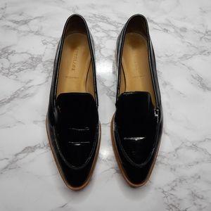 Everlane Womens The Modern Loafer Black Patent 8